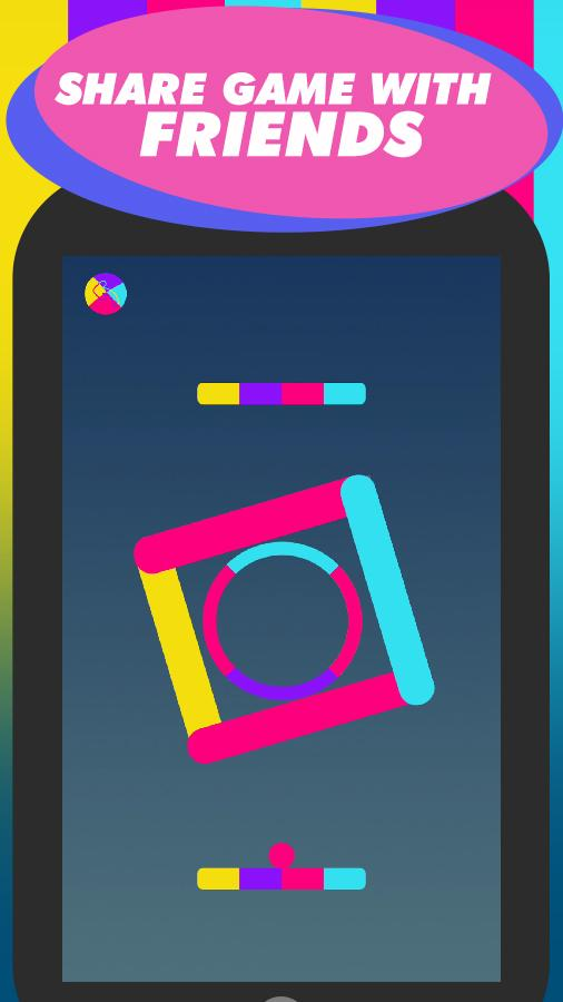 Color Gravity - rings & hoops- screenshot