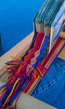 Photo: -- two warp threads were wrong, but now fixed. Key to pattern is woven. #cardweaving
