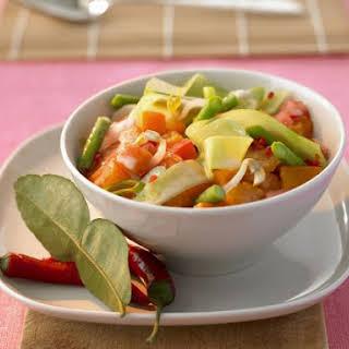 Thai Vegetable Curry.