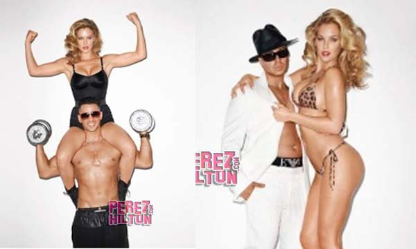 Bar Refaeli Gets Physical With The Jersey Shore (5 Pics):Safe For Work,facebook girls0