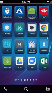 ZINQS Launcher for BlackBerry 10 Users - náhled
