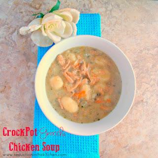 Crock Pot Gnocchi Chicken Soup.