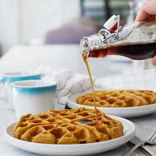 Vegan Pumpkin Waffles
