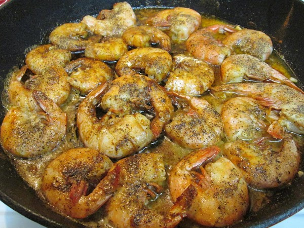 Barbecue Shrimp - New Orleans Style Recipe