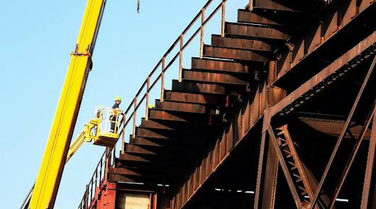 Trabajos de restauración de El Cable Inglés.