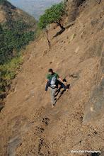 Photo: Trek Leader Chaitali with Ex-Trek Leader Kishore....