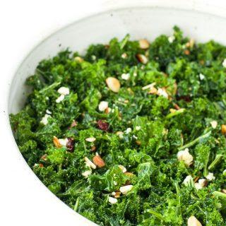 Alyssa's Kale Salad.