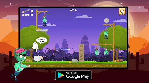 Télécharger Gratuit Save Zombie : Bow Master apk mod screenshots 2