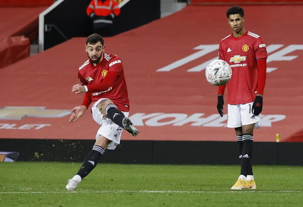 Bruno Fernandes stunner seals FA Cup win for Man United over Liverpool - TimesLIVE