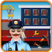 Build a Police Station: Construction Builder Game