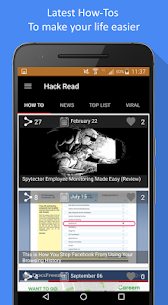 HackRead – Latest Tech and Hacking News Apk Download For Android 7