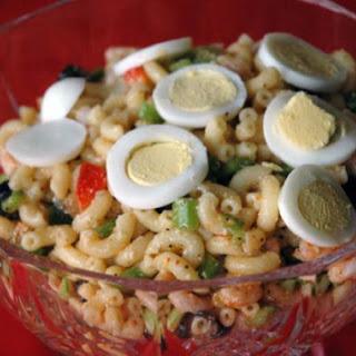 Shrimp Pasta Salad - Waco Style