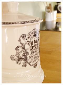 angielski kuchenny ceramiczny pojemnik na ciastka fortnum mason