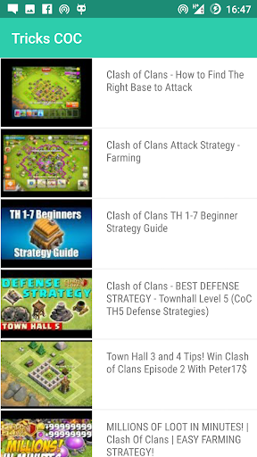 Tips And Tricks COC