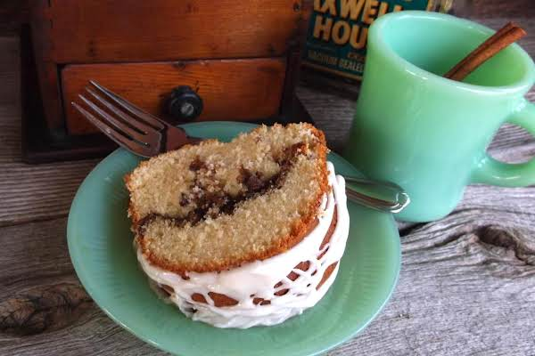 Cinnamon Swirl Sour Cream Coffee Cake Recipe