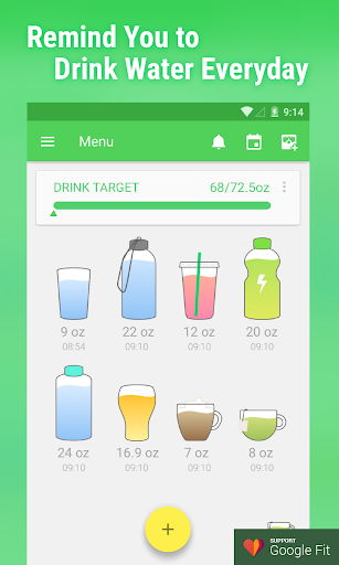 Water Drink Reminder Pro screenshot 1