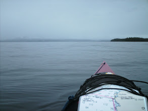 Photo: Approaching Point Sykes and Behm Canal.