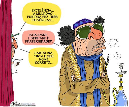 Gaddafi – A excentricidade².
