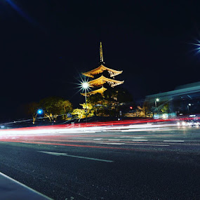 Toji temple by Affan Nasruddin - Buildings & Architecture Public & Historical ( kyoto, toji temple, japan )