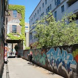 graffiti alleyway in downtown Toronto in Toronto, Ontario, Canada
