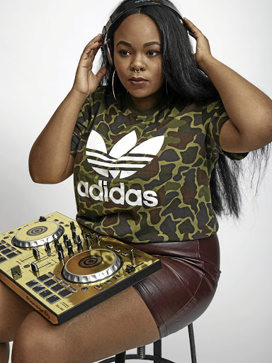 DJ Afrikan Queen plays gqom she learnt about from KZN.