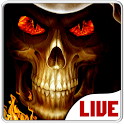 Skull Live Wallpapers - Animated Backgrounds icon