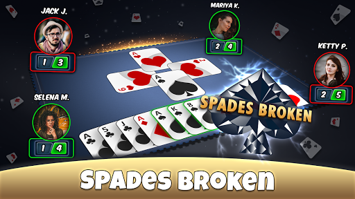 Spades - Play Card Game 5.6 APK MOD screenshots 2