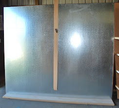 Photo: Sing Core's honeycomb panels can be faced with almost any surface material available including wood, plastic, fiberglass, galvanized steel or aluminum, it's only limitations are your imagination and budget