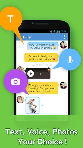 InstaMessage - Chat, meet, dating screenshot 5
