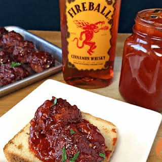 Cinnamon Whiskey Apple Butter Barbecue Sauce.
