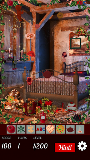 Hidden Objects - Colorful Xmas