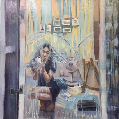 【卒業生情報】絵画科の卒業生が「第54回 主体展」にて入選しました。