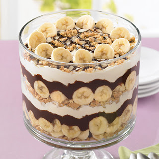 Chocolate-Banana Cream Trifle