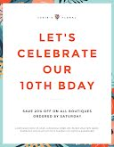 Birthday Sale - Birthday Flyer item