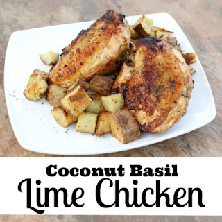 Coconut Basil Lime Chicken.