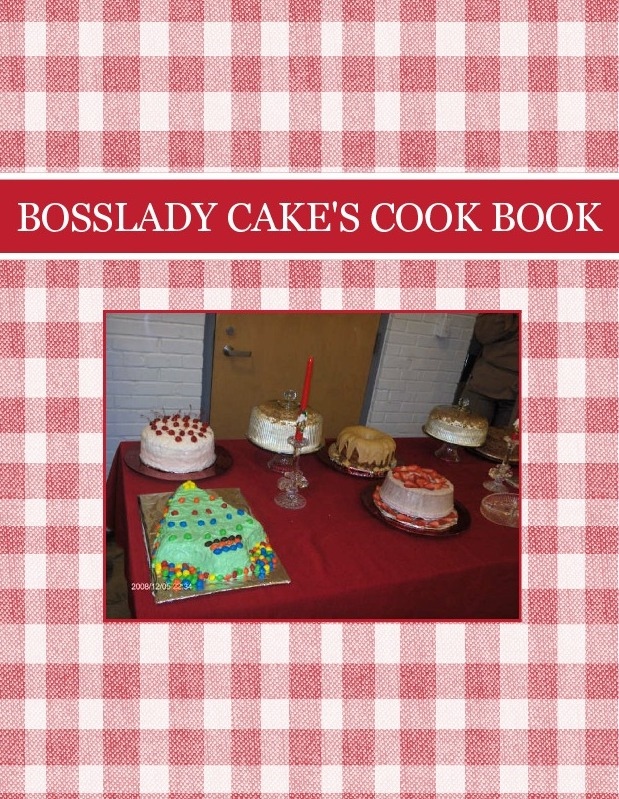 BOSSLADY CAKE'S COOK BOOK