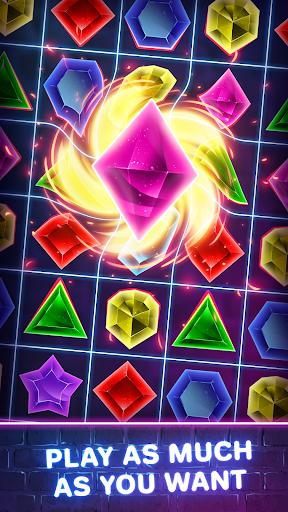 Jewels Quest 2 - Glowing Match 3 1.0.0 screenshots 2