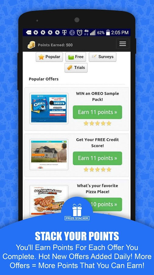 Free Gift Cards - Cash Rewards- screenshot