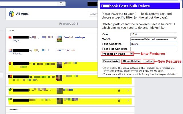 Social Book Post Manager Screenshot