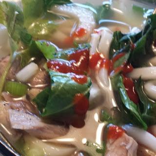 Vietnamese Pho Soup.