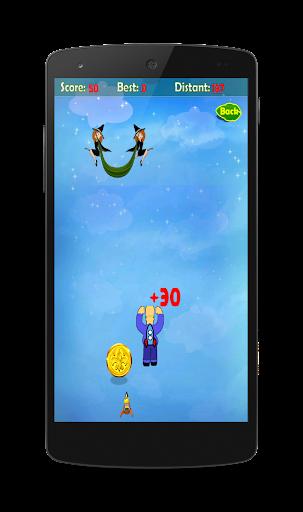Simpson Boy Flying