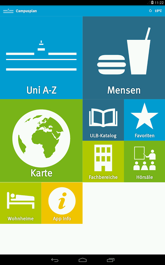 ifgi Campusplan- screenshot