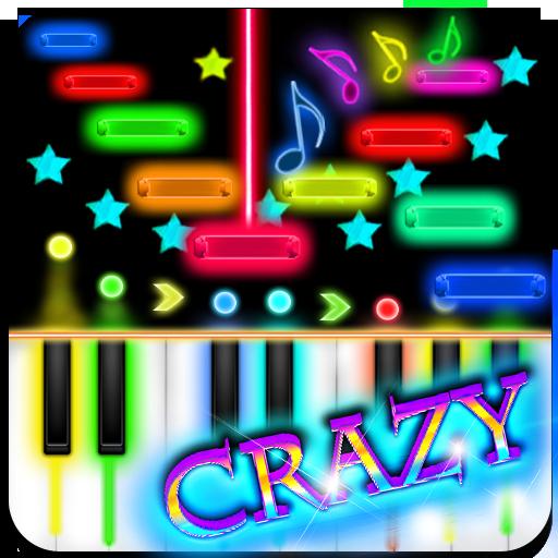 瘋狂鋼琴 音樂 LOGO-玩APPs