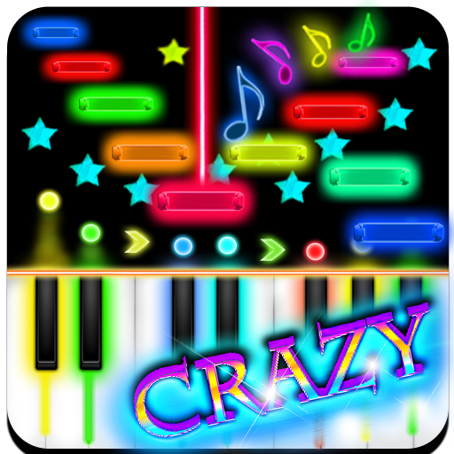 Crazy Piano 音樂 LOGO-玩APPs