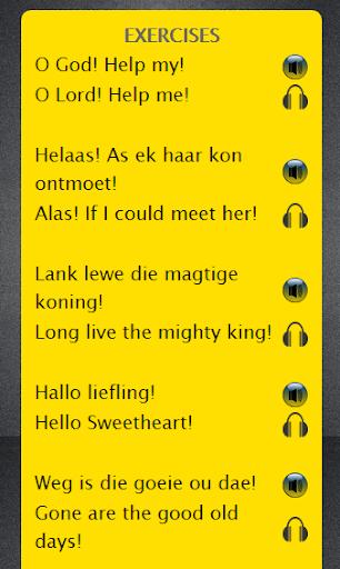 Afrikaans to English Speaking
