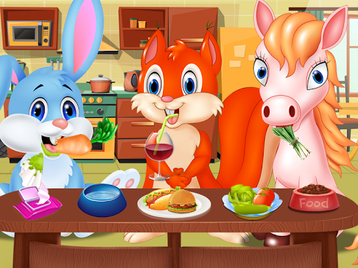 Pet Vet Care Wash Feed Animals - Animal Doctor Fun android2mod screenshots 3