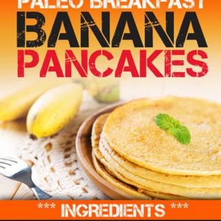 Easy Banana Paleo Pancakes for One