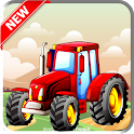 3D Tractor Farm Driving Simulator 2021 icon