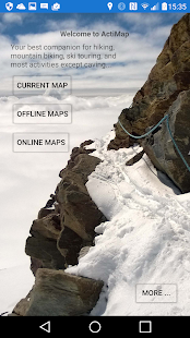 ActiMap - Outdoor maps & GPS Screenshot