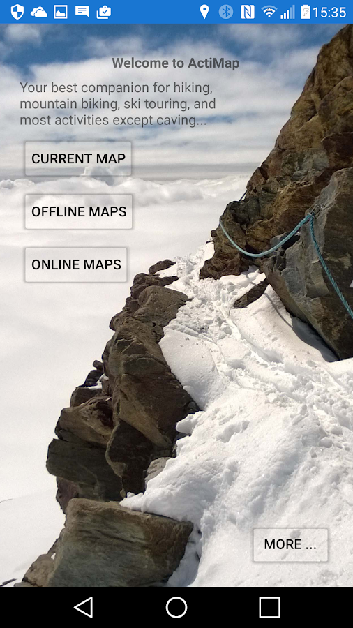 ActiMap - Outdoor maps & GPS: captura de tela